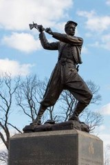 Civil War Gettysburg Memorial Statue | Unique Journal |