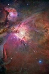 A Spectacular View of the Orion Nebula Outer Space