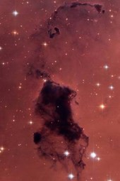 Dust Clouds in the Milky Way Outer Space