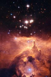 Pismis 24 and Ngc 6357 Nebula Outer Space