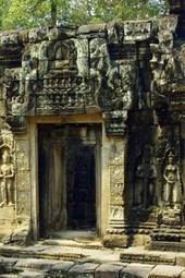 Cambodia Ancient Angkor Bankaey Srei Temple Ruins