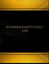 Scaffold Safety Check Logbook