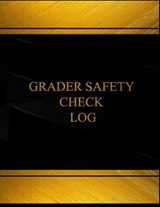 Grader Safety Check Black Log Journal |  |