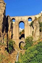 Tajo de Ronda New Bridge in Malaga Province of Spain Journal