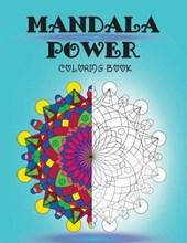 Mandala Power Coloring Book