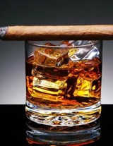 Jumbo Oversized Time for A A Cuban Rum and Cigar | Unique Journal |