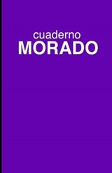 Cuaderno Morado de Rayas/ Striped Purple Notebook | auteur onbekend |