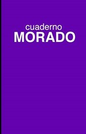 Cuaderno Morado de Rayas/ Striped Purple Notebook