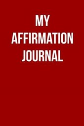 My Affirmation Blank/Lined Journal