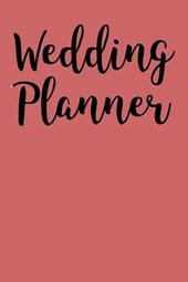 Profession Wedding Blank/Lined Planner