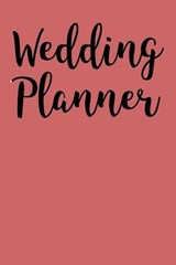 Profession Wedding Blank/Lined Planner |  |