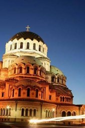 St Alexander Nevski Church in Sofia Bulgaria Lined Journal