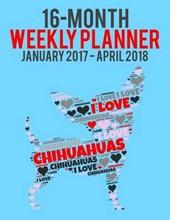 Wordcloud Chihuahua 2017-2018 Weekly Planner