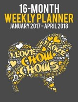 Wordcloud Chow Chow 2017-2018 Weekly Planner | auteur onbekend |