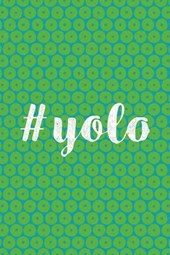#yolo Lined Journal
