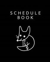 Fox in the Dark Schedule Book / Planner