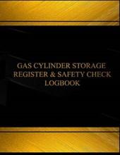 Gas Cylinder Storage Register and Safety Black Log Journal