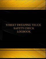 Street Sweeping Truck Safety Check Black Log Journal |  |