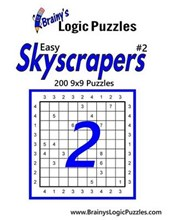 Brainy's Logic Puzzles Easy Skyscrapers