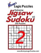 Brainy's Logic Puzzles Extreme Jigsaw Sudoku