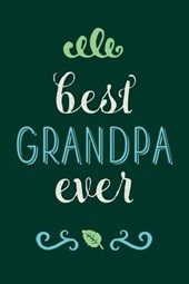 Best Grandpa Ever Lined Journal