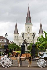 A View of Jackson Square in New Orleans Louisiana USA Journal | auteur onbekend |