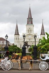 A View of Jackson Square in New Orleans Louisiana USA Journal