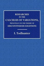 Researches the the Calculus of Variation