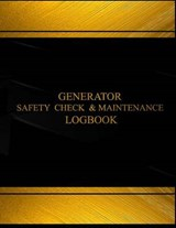 Generator Safety Check and Maintenance Logbook |  |