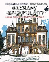 Germany Beautiful City Coloring Book Sketchbook