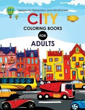 City Coloring Books for Adults