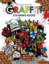 Graffiti Coloring Book for Adults