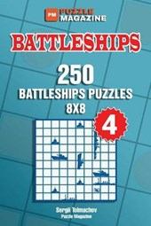 Battleships - 250 Battleships Puzzles 8x8 (Volume 4)