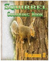 Squirrel Coloring Books | Melissa Kelly |
