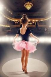 Little Ballerina Dancer With Big Dreams Journal