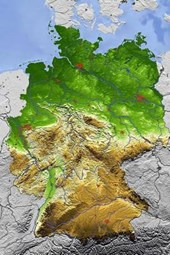 Relief Map of Germany Journal
