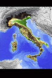 Relief Map of Italy Journal