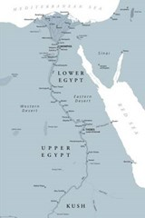 Map of Ancient Egypt Journal | auteur onbekend |