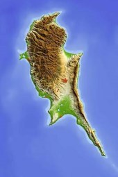 Relief Map of Cyprus Journal