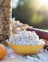 Jumbo Oversized Fall Harvest of Wild Popcorn | Unique Journal |
