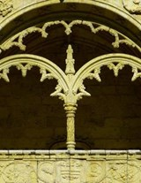 Jumbo Oversized Window Arch in the Beautiful Jeronimos Monastery of Portuga | Unique Journal |