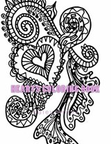 Hearts Coloring Book | Haley Arnaz |
