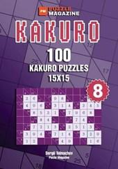 Kakuro - 100 Kakuro Puzzles 15x15 (Volume 8)