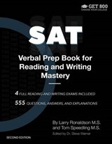SAT Verbal Prep Book for Reading and Writing Mastery | Ronaldson, Larry ; Speedling, Tom |