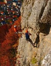 Jumbo Oversized Rock Climbing in Germany