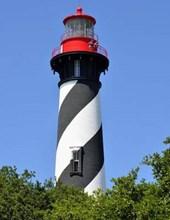 Jumbo Oversized St Augustine, Florida Lighthouse