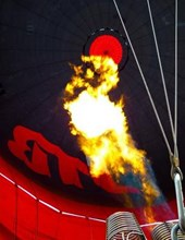 Jumbo Oversized Ignition on a Hot Air Balloon