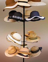Jumbo Oversized Hat Rack Display | Unique Journal |