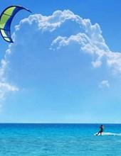 Jumbo Oversized Kite Surfing in Hawaii