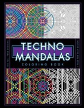 Techno Mandalas Coloring Book